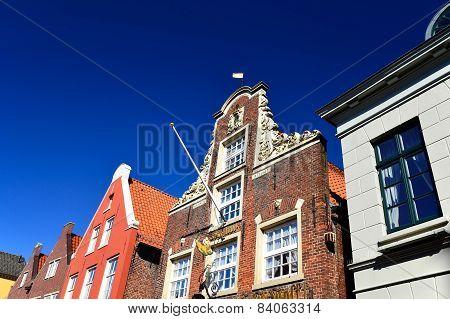 Old Town in Leer