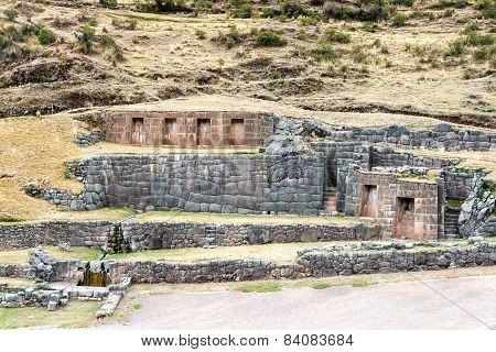 Incan Ruins Of Tambomachay