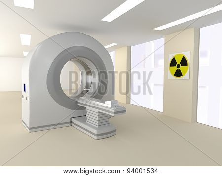 Ct Room In A Hospital