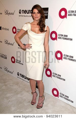 LOS ANGELES - MAR 3:  Ashley Greene at the Elton John AIDS Foundation's Oscar Viewing Party at the West Hollywood Park on March 3, 2014 in West Hollywood, CA