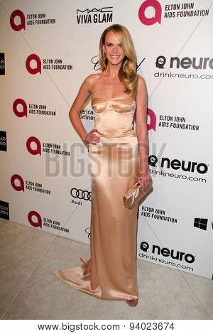 LOS ANGELES - MAR 3:  Anne Vyalitsyna at the Elton John AIDS Foundation's Oscar Viewing Party at the West Hollywood Park on March 3, 2014 in West Hollywood, CA