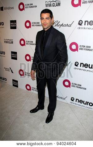 LOS ANGELES - MAR 3:  Jesse Metcalfe at the Elton John AIDS Foundation's Oscar Viewing Party at the West Hollywood Park on March 3, 2014 in West Hollywood, CA