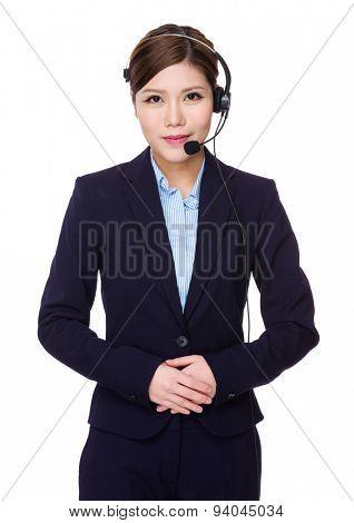 Call center officer
