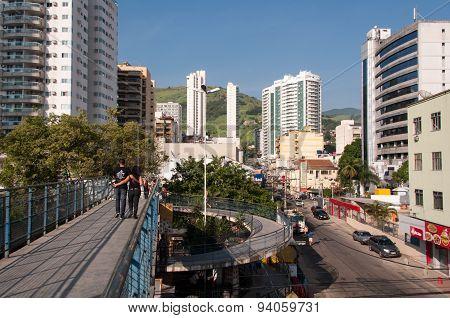 Nova Iguacu City Center Urban Scene