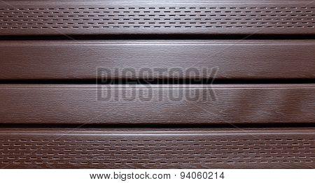 Brown Plastic Siding