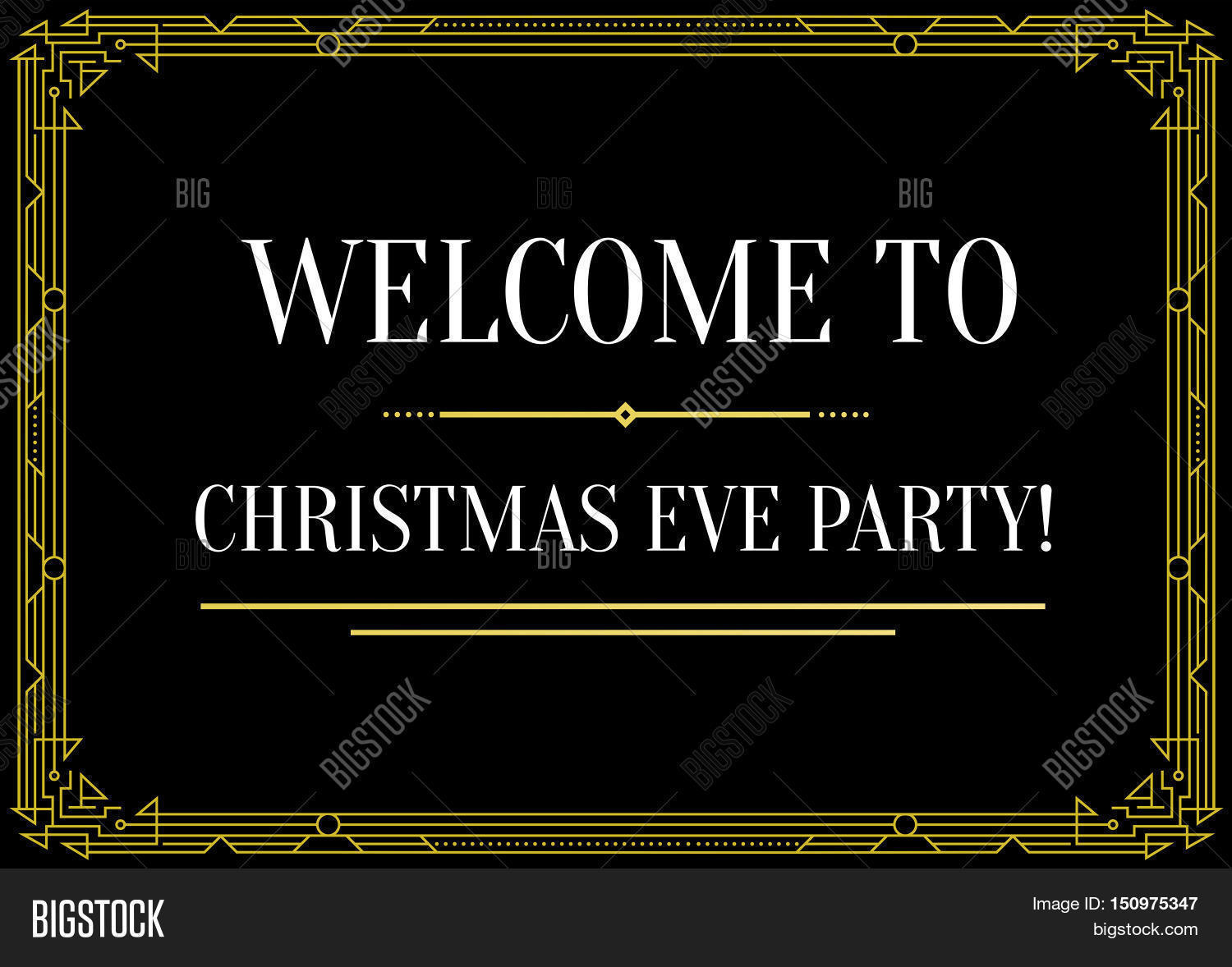 Gatsby style vector photo free trial bigstock gatsby style invitation in art deco or nouveau epoch 1920s gangster era vector stopboris Image collections