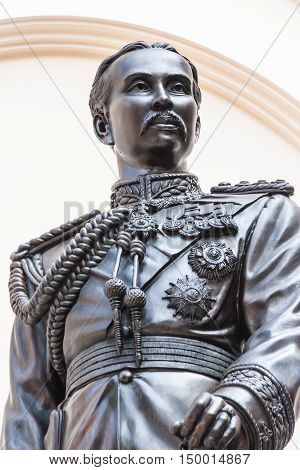 The monument of King Rama V of Thailand