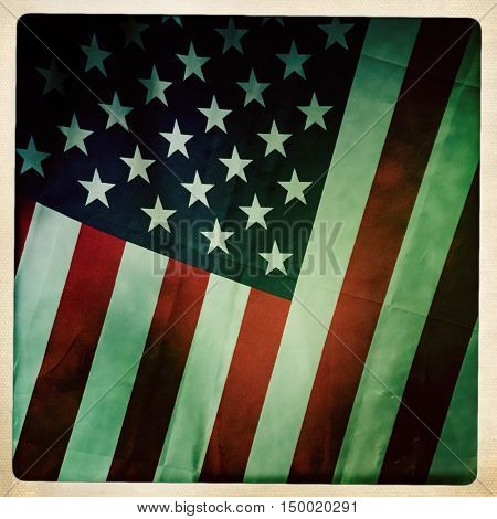Filtered image of an American flag for 4th of July, Labor Day, Memorial Day, Veteran's Day