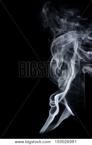 White Smoke On Black Background, White Smoke On Black Background, Smoke Background,white Ink Backgro