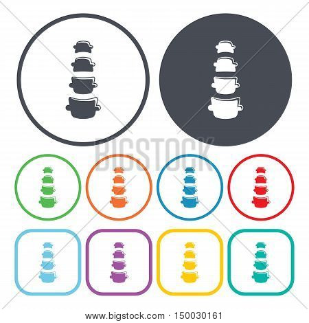 Illustration Of  Spine Icon In Pattern Style Isolated On Background. Stock Vector Illustration.