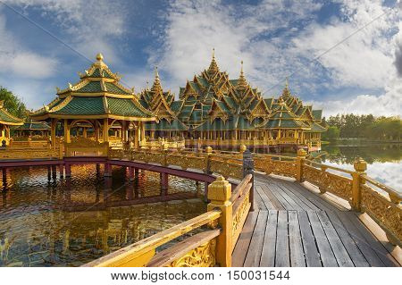 Pavilion Of The Enlightened, Ancient Cityf Bangkok
