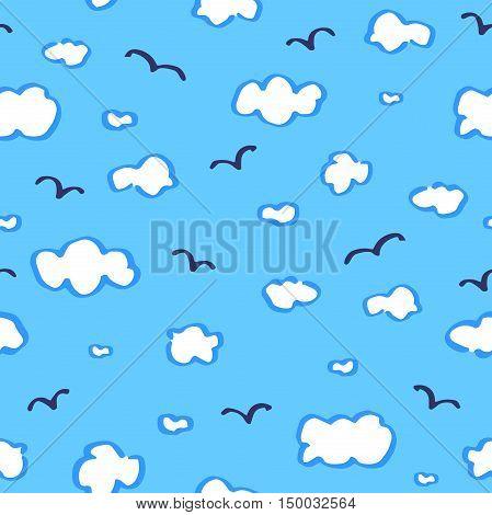 Heaven Seamless Pattern