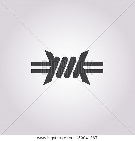 Illustration Of Vector Icon In Simple Style Isolated On Background. Stock Vector Illustration.