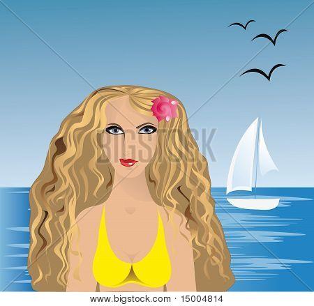 Sea And Girl.eps