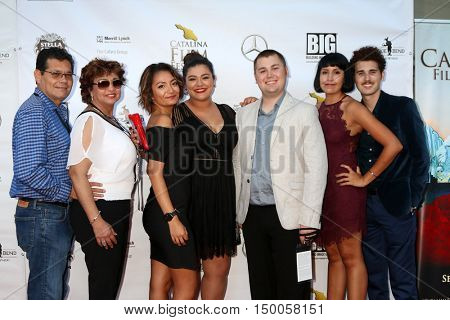 LOS ANGELES - SEP 30:  Filmmakers at the Catalina Film Festival - Friday at the Casino on September 30, 2016 in Avalon, Catalina Island, CA