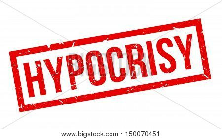 Hypocrisy Rubber Stamp