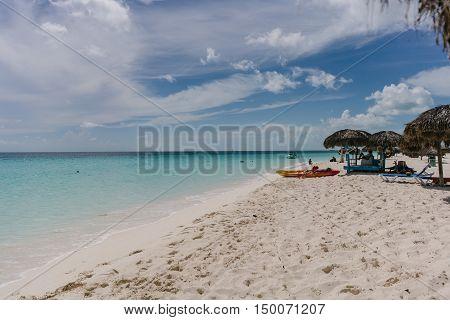 white sand beach of Cayo Largo, Cuba