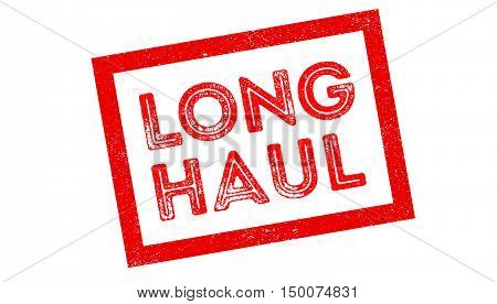 Long Haul Rubber Stamp