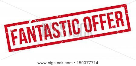 Fantastic Offer Rubber Stamp