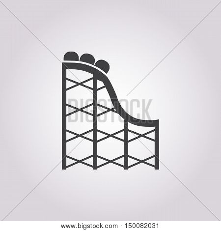 swings icon on white background for web
