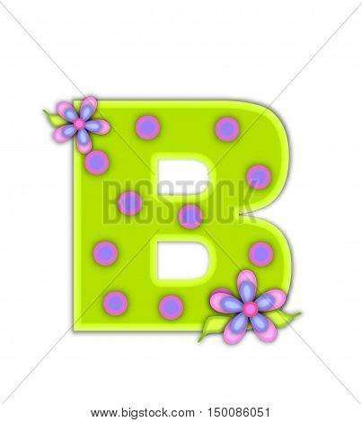 Alphabet Big Dot B