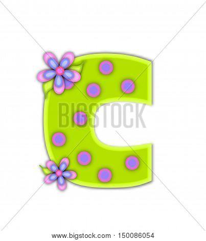 Alphabet Big Dot C