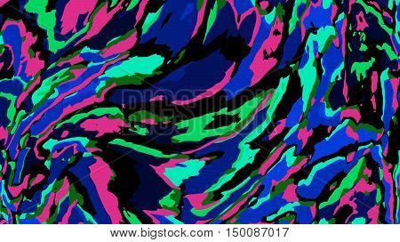Abstract vector background - colored chaos stains or spots. Pattern similar to the paint stains or accidental brush strokes. Computer-generated image.
