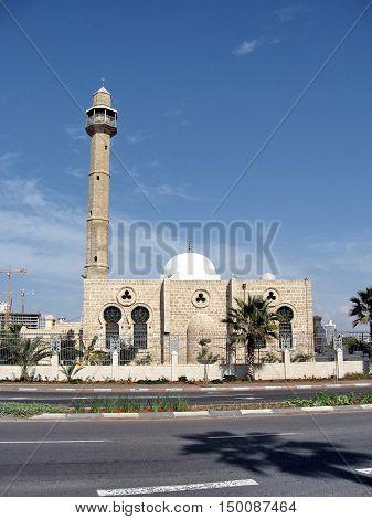 Hasan-bey Mosque in Tel Aviv Israel November 12 2009
