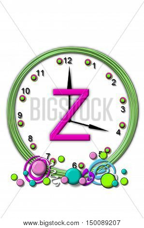 Alphabet Timeless Z