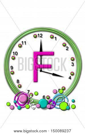 Alphabet Timeless F