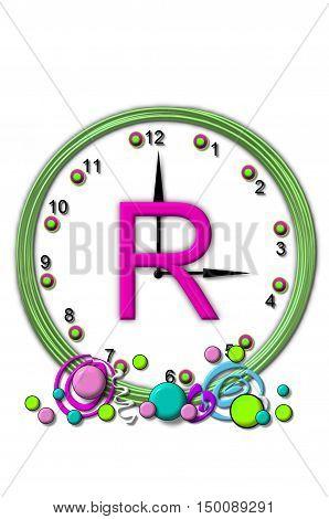 Alphabet Timeless R