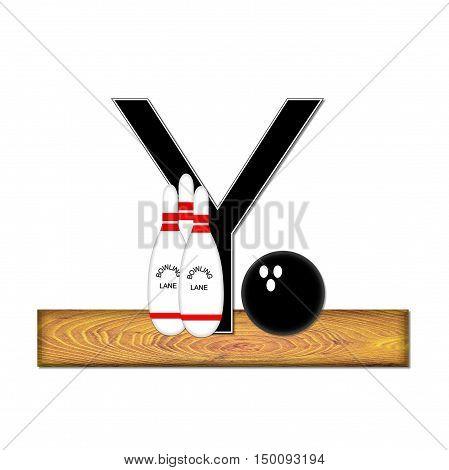 Alphabet Bowling Y