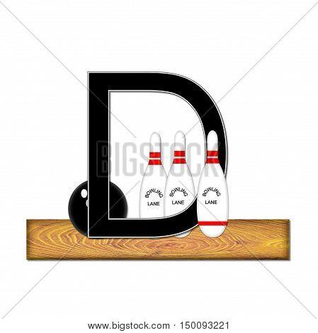 Alphabet Bowling D