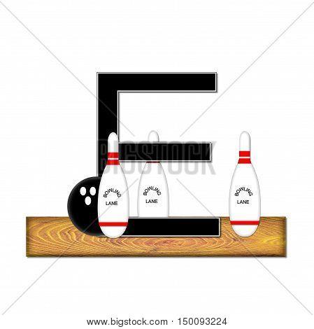 Alphabet Bowling E