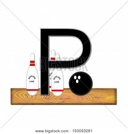 Alphabet Bowling P