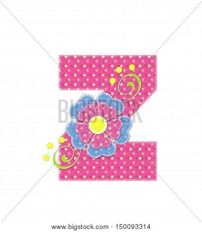 Alphabet Bonita Z