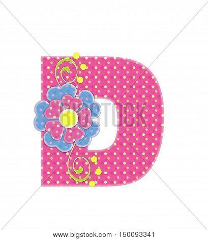Alphabet Bonita D