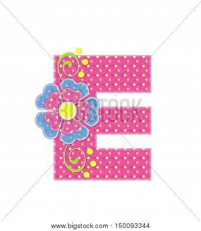 Alphabet Bonita E