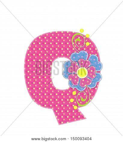 Alphabet Bonita Q