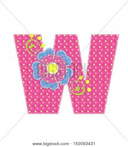 Alphabet Bonita W