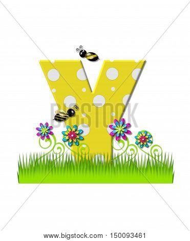 Alphabet Buzzing Bee Y