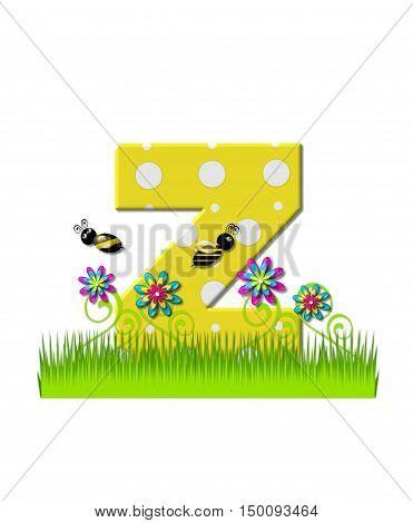 Alphabet Buzzing Bee Z