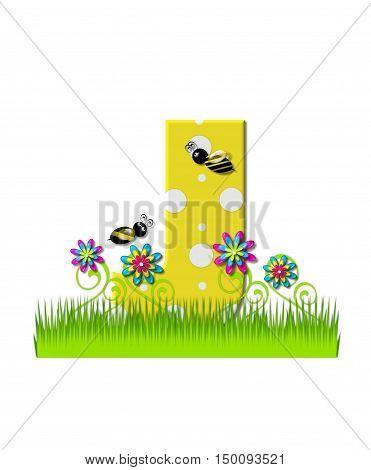 Alphabet Buzzing Bee J