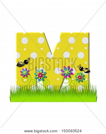 Alphabet Buzzing Bee M