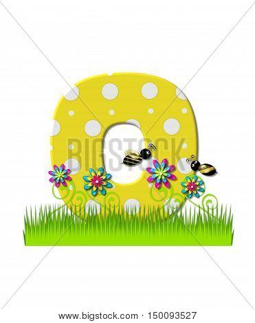 Alphabet Buzzing Bee O