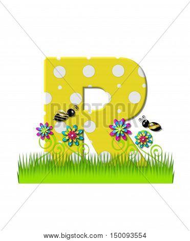 Alphabet Buzzing Bee R