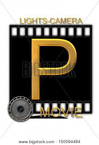 Alphabet Movie Buff P