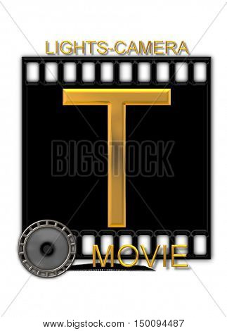 Alphabet Movie Buff T