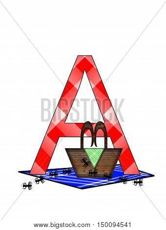 Alphabet Picnic Lunch A
