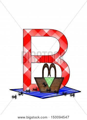 Alphabet Picnic Lunch B